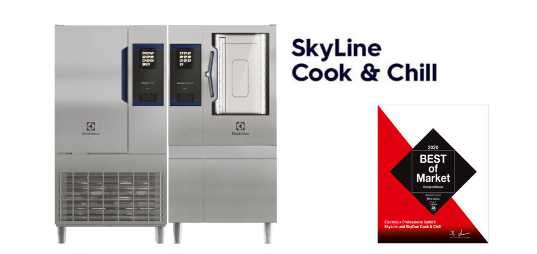 "Efficienza energetica: SkyLine di Electrolux Professional vince il premio ""Best of Market Awards"""